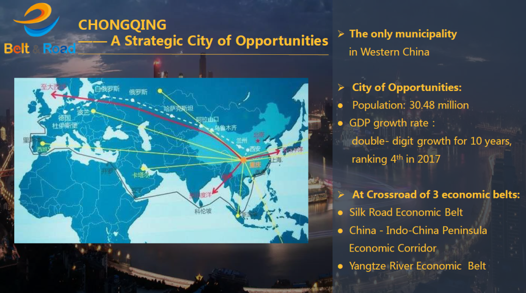 Event Belt Road CGQ opportunities